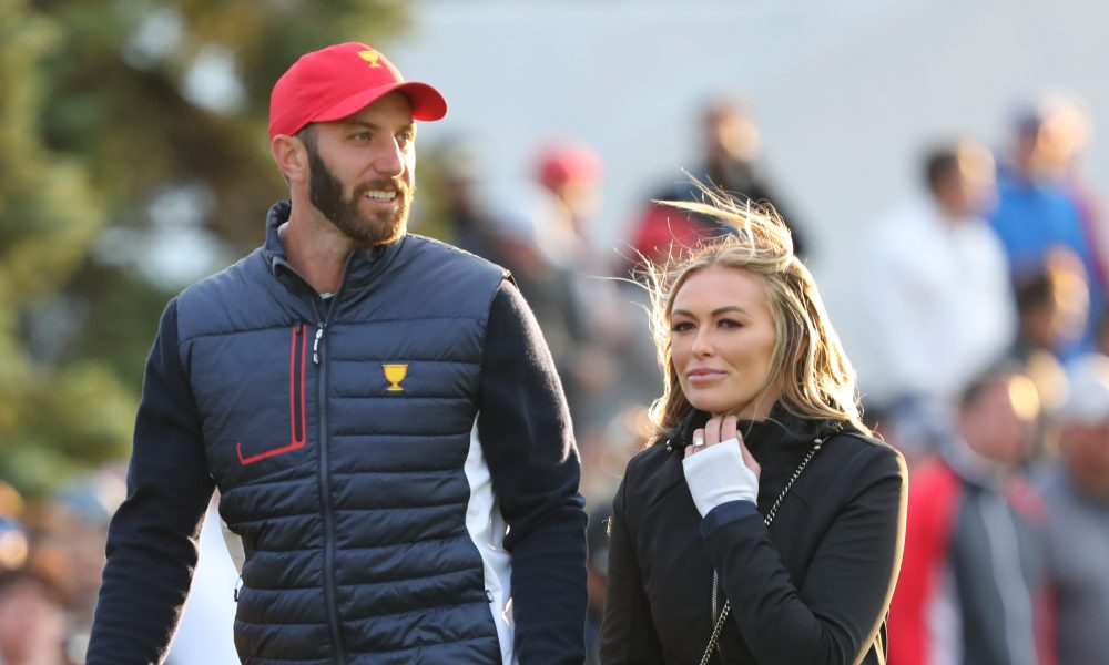 Paulina Gretzky Shows Off Abs In Tiny String Bikini While