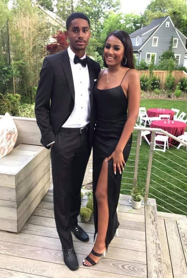 Sasha Obama Sizzles In Black Gown During Her High School