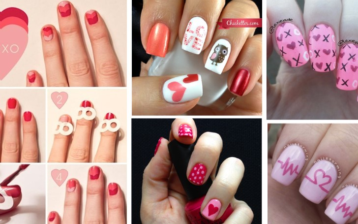 10 Valentine's Day Nail Arts Ideas To Fall in Love