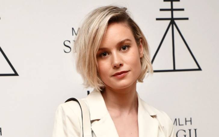 Brie Larson Chops Off Long 'Captain Marvel' Locks Into Very Cute Bob As She Attends Her Friend's New Beauty Line