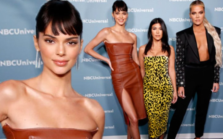 Kendall Jenner Debuted Brand New Hairstyle At The 2019 NBC Upfronts In NYC