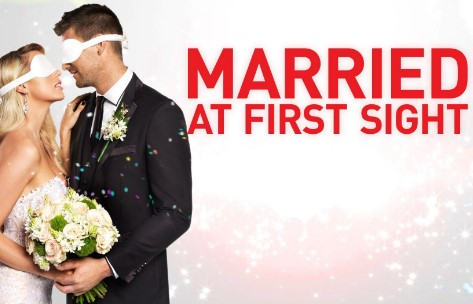 Married at First Sight promotional poster.