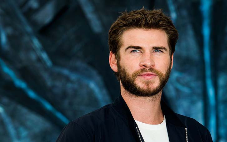 Liam Hemsworth and a Mystery Woman Seen Together Holding Hands and Sharing a Meal