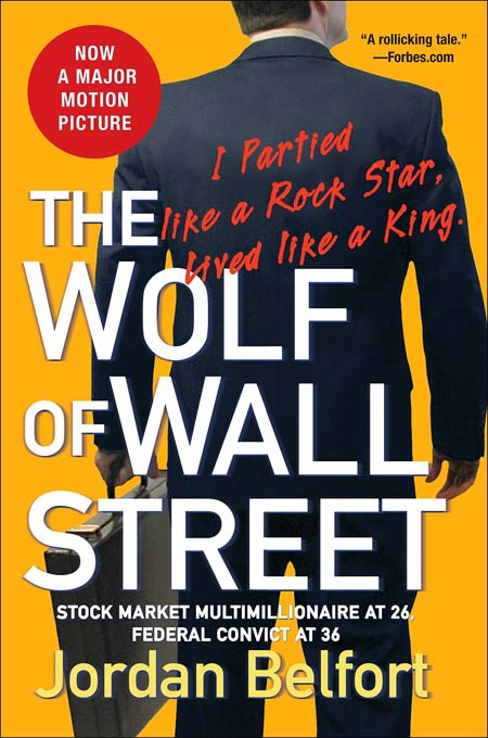 Wolf of Wall Street book cover.