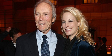 Jacelyn Reeves and Clint Eastwood