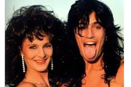 Elaine Starchuk and Tommy Lee.