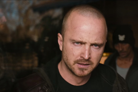 Aaron Paul as Jesse Pinkman in the movie El Camino: A Breaking Bad Movie.