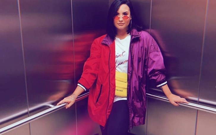 Demi Lovato Gets Baptized in Her Low-Profile Trip to Middle-East