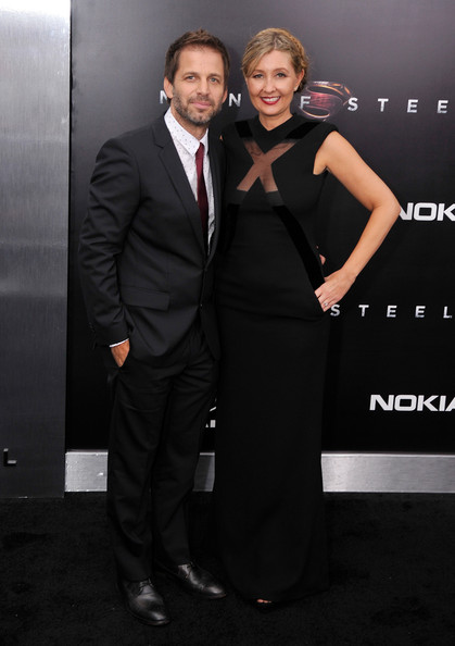 "Director Zack Snyder (L) and Deborah Snyder attend the ""Man Of Steel"" world premiere at Alice Tully Hall at Lincoln Center on June 10, 2013 in New York City."