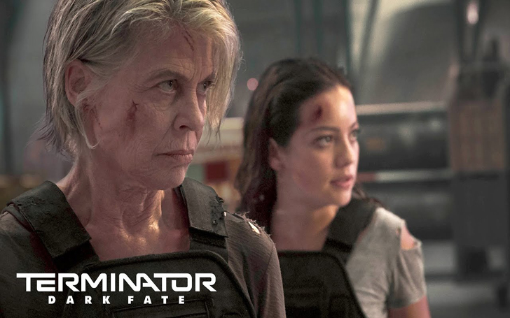 "Terminator: Dark Fate; Linda Hamilton Says Opening of the Movie ""Will Shock the Audiences"""
