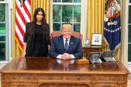 Kim convinced president Trump to release non-voilent drug offender from life imprisonment.
