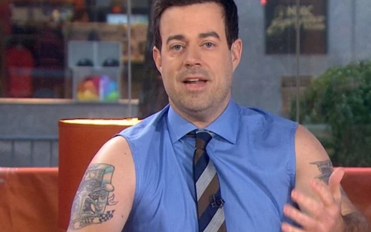 How Many Tattoos Does Carson Daly Have?