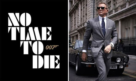 No Time To Die is the final Daniel Craig movie as James Bond.