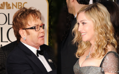 Elton John accused Madonna for being nasty.