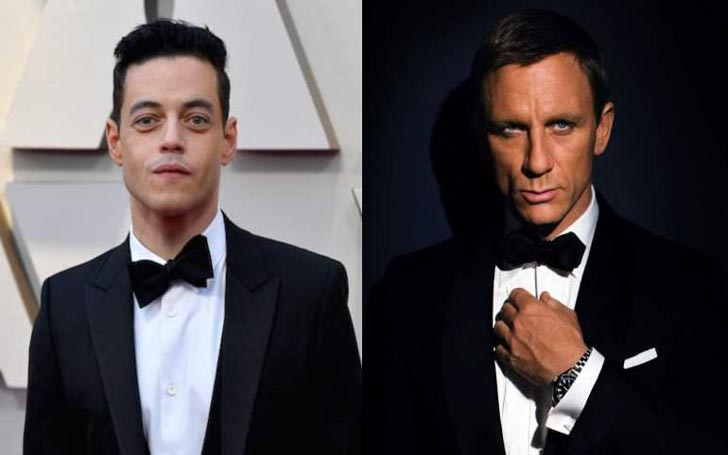 Rami Malek Says He is a Bond Girl Now After an Incident Which Occurred With Daniel Craig
