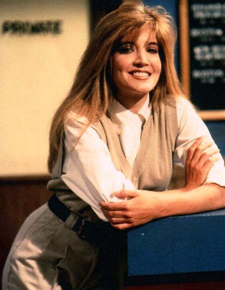 Crystal Bernard in the show Wings.