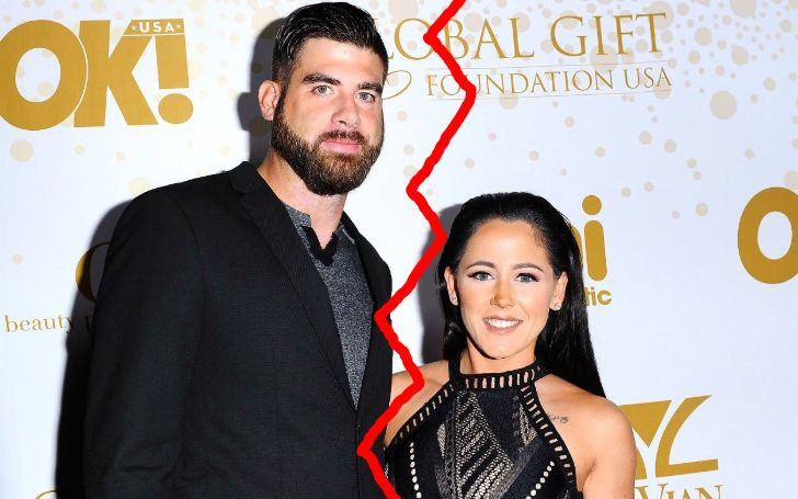 Jenelle Evans Files For Divorce with David Eason Following Her Firing from 'Teen Mom 2'