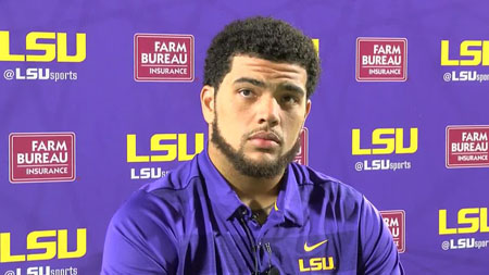 Thaddeus Moss joined LSU Tigers in 2017.