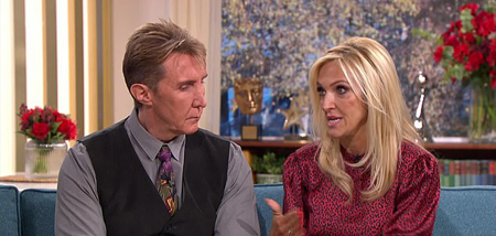 The Speakmans were in This Morning when Eva talked about going through domestic abuse.