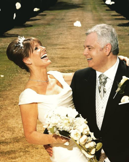 Ruth Langford and Eamonn Holmes got married after being together for more than 13 years.