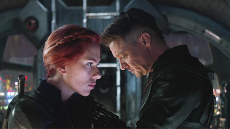 Black Widow death scene in Endgame was a little different.