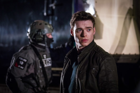 Richard Madden played the leading character in the hit British show Bodyguard.