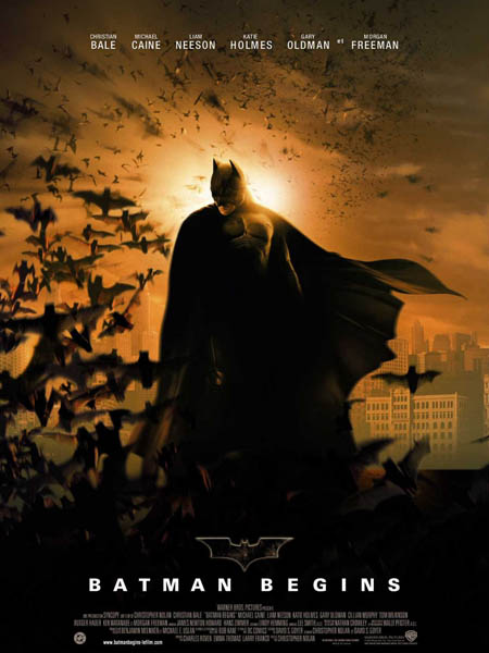 Batman Begins saved the Batman franchise from obscurity.