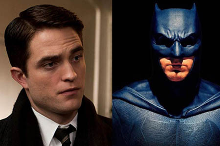 Robert Pattinson was hired to play Batman in the upcoming trilogy.