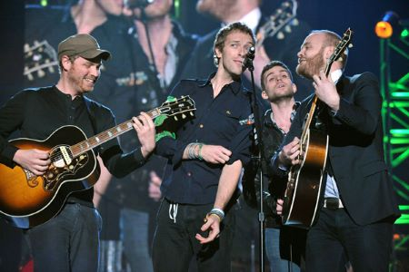 Coldplay cancel the launch of their tour of new album.