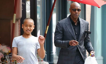 Ibrahim is the son of Dave Chappelle and he is 15 years old.