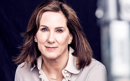 Kathleen Kennedy is the head of Lucasfilm which makes Star Wars movies.