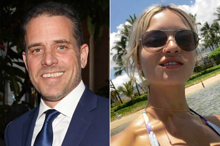 Hunter Biden and his wife Melissa Cohen