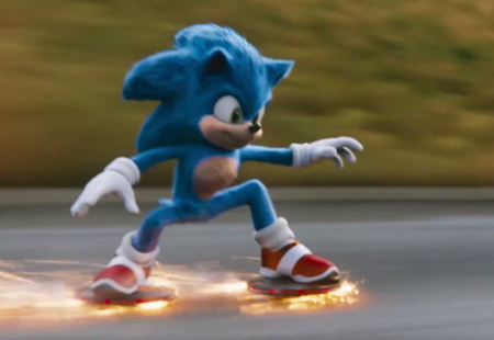 The redesigned Sonic was a hot with the fans.