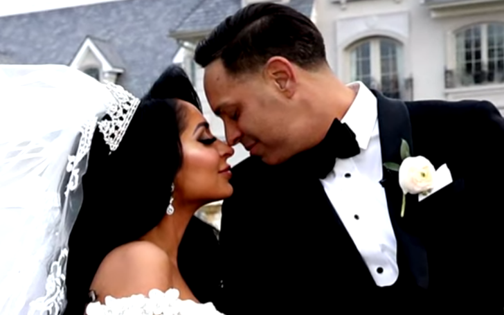 Angelina Pivarnick of 'Jersey Shore' Married her Fiance, Chris Larangeira