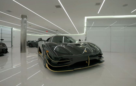 Manny's Koenigsegg cost him $2.2 million which he sold for $4.1 million.