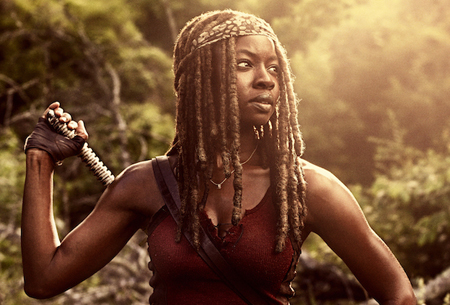 Michonne will not be sailing off into the sunset and she will be back.