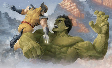 Mark Ruffalo would like to see Hulk battle Wolverine in a movie.