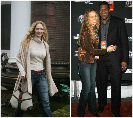 Michael Strahan and Jean Muggli were married for almost seven years.