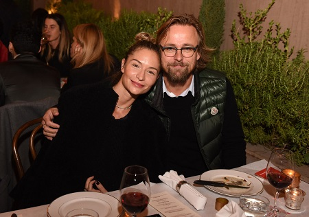 Kristin Ronning and ex-husband director Joachim Ronning attend the Delete Blood Cancer DKMS Dinner at Terrine on November 12, 2015 in Los Angeles.