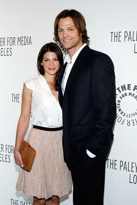 Jared Padalecki and Genevieve Cortese got married in front of 150 guest.