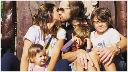 Jared and Genevieve are the proud parents of three kids.
