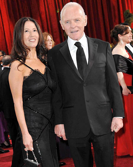 Stella Arroyave and Anthony Hopkins started to lose weight together.