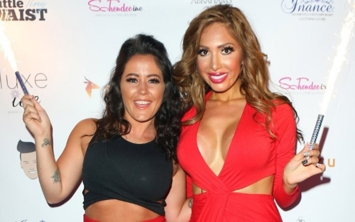 Farrah Abraham Is Glad Jenelle Evans Is Divorcing David Eason but Not Happy for the Reason Is Doing It