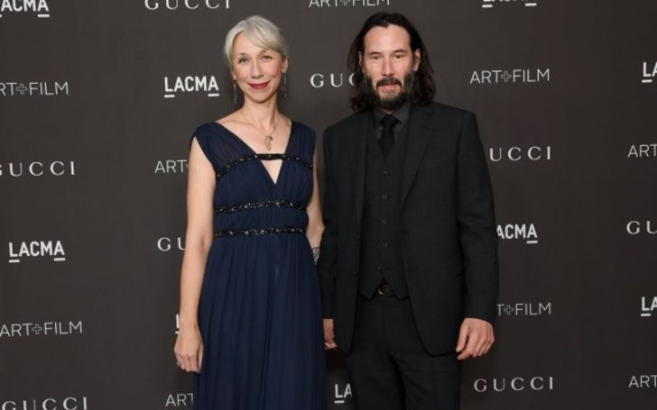 Keanu Reeves Makes Red Carpet Debut with Artist Girlfriend Alexandra Grant