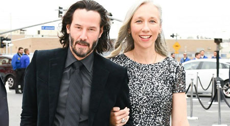 Alexandra and Keanu Reeves met in 2009
