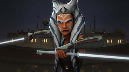 Ahsoka was teased as the character making an appearance in the upcoming Star Wars movie.