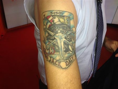 Carson Daly Tattoos Get All The Details Here Sleeve Wrist
