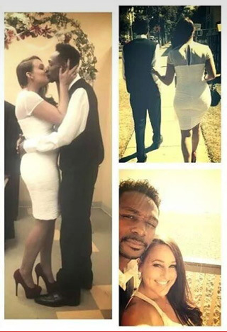 Krayzie Bone and Andrea Henderson got married in 2014 on the beach.