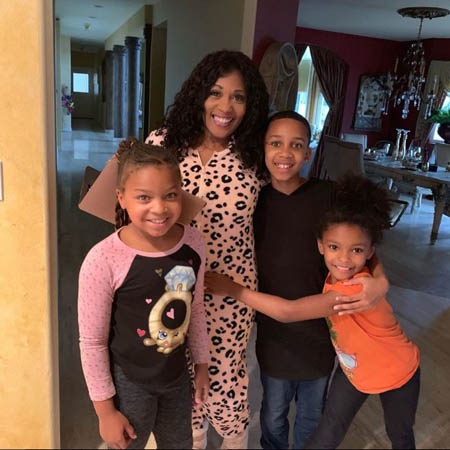 Felicia is a mother of three and the family lives together even through all of Layzie's extramarital affairs.
