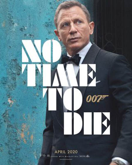 No Time To Die will be the final Bond movie for the actor Daniel Craig.